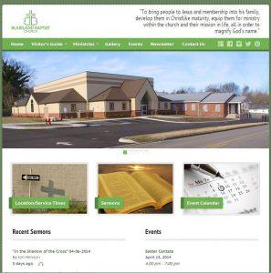 Blairland Baptist Church Site