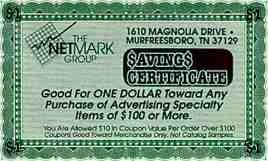 Netmark Group Coupon 1993